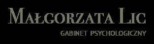 Małgorzata Lic | Gabinet psychologiczny